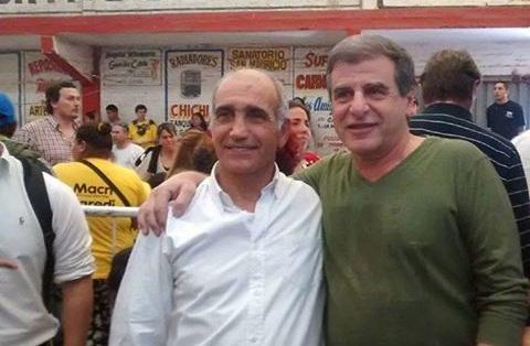 Masco junto a Daniel Salvador