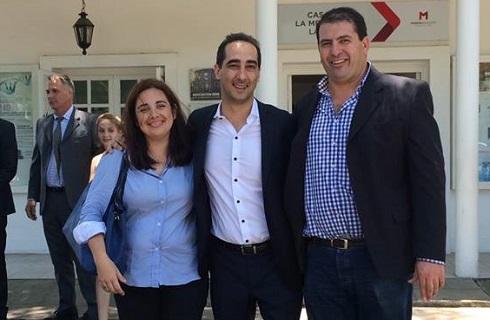 Zapulla respaldó a Vidal y el aumento de tasas en Morón