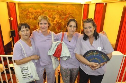 Voluntarias de Doulas. Foto: O. Abades